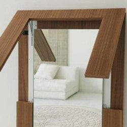 Porada Tip Over Mirror-Table