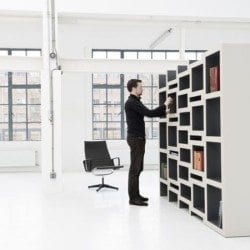 REK: Modular Bookcase Grows With Your Books
