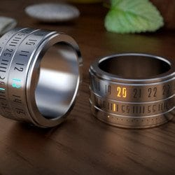 Ring Clock: From Wrist to Finger