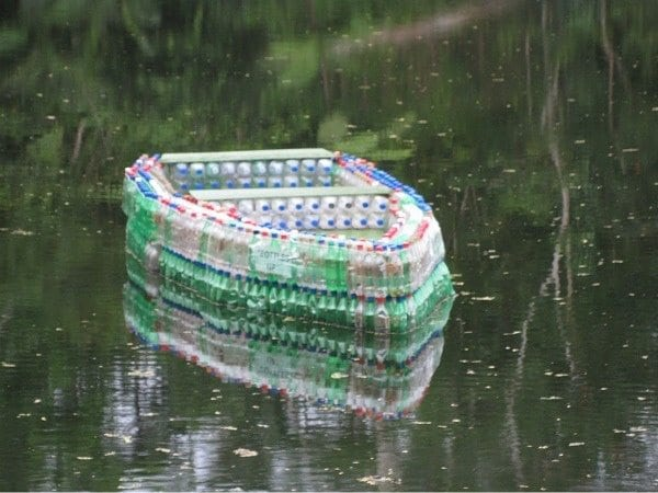 Fiji Boat Made From Plastic Bottles IPPINKA