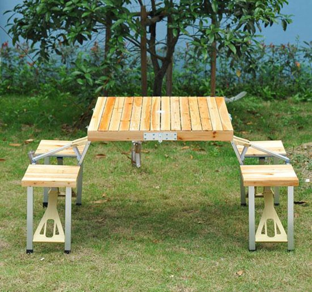 portable picnic table ippinka. Black Bedroom Furniture Sets. Home Design Ideas