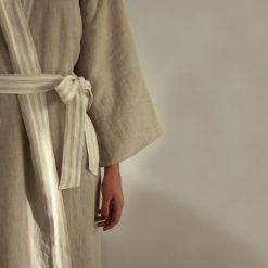 Pure Lithuanian Linen Bathrobe