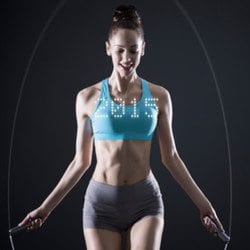 Smart Rope: The LED Embedded Jump Rope