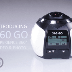 360 GO: Affordable 360˚ 4K Action Camera