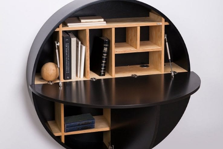 wall-mounted desk-black-07