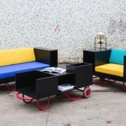 Movable Furniture Inspired By Hand Trucks