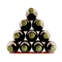 Bottle Stacking Mat in Red