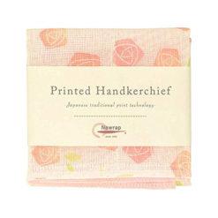 Printed Handkerchief, Rose