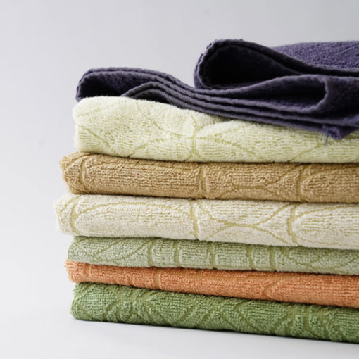 Vegetable-Dyed Towels