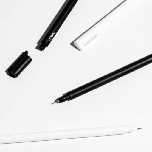 Apex Pens, Black and White