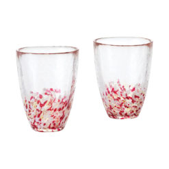 Tsugaru Tumbler Set, Apple Red