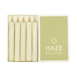 Botanical Haze Candles, Matcha Green