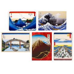Japanese 2D Art Greeting Cards