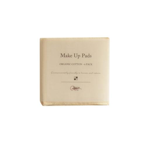 Organic Makeup Pads, 6-Pack